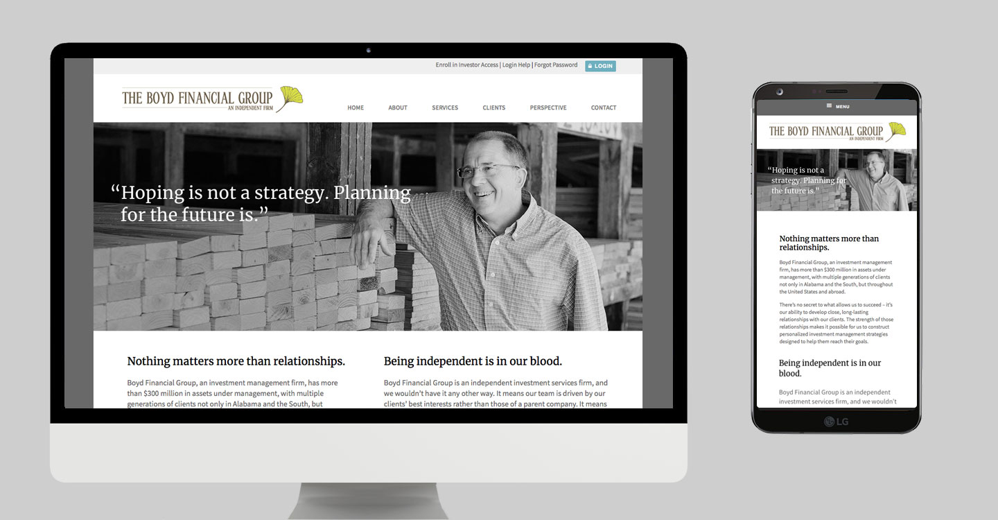 Boyd Financial Group website