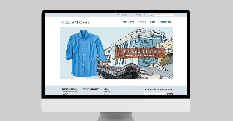 360 branding work for New England Shirt Company
